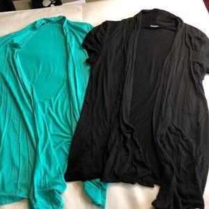 Sweaters - Pair of summer cotton cardigans